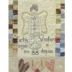 ANGELS AMONG US - STITCHERY-BLOCK 1-Earthly Angels