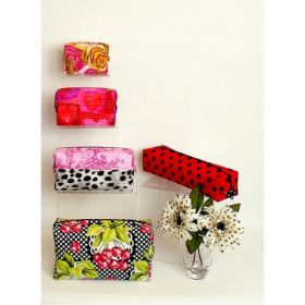 5 Chic & Quick Toiletry Bags Quilt Pattern