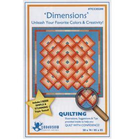 DIMENSIONS QUILT PATTERN*