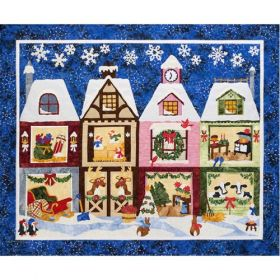 The Holiday Ladies Milk & Cookies Quilt Pattern