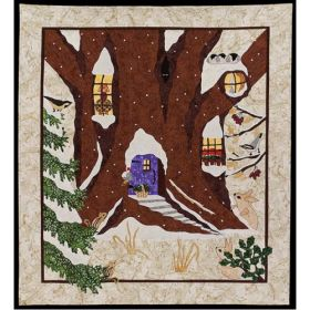 Snowy Hideaway Quilt Pattern