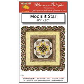 MOONLIT STAR QUILT PATTERN*