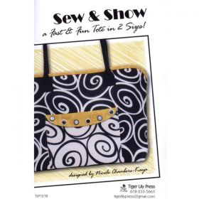 Sew & Show Tote Purse Pattern