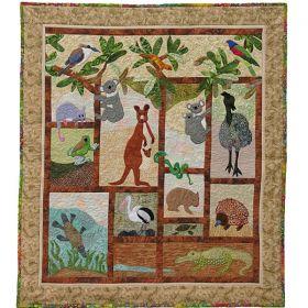 A Is For Aussie Animals Pattern