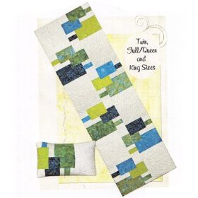 Head To Toe Bed Runner and Pillow Quilt Pattern