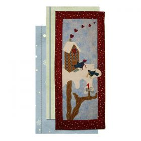 For My Tweetheart Tiny Treasures Wall Hanging Pattern