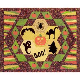 BOO-DAZZLED QUILT PATTERN