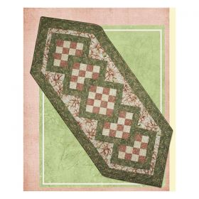 Stitched To The Nines Tablerunner Pattern