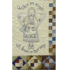 ANGELS AMONG US - STITCHERY-BLOCK 5-Quilters are Angels