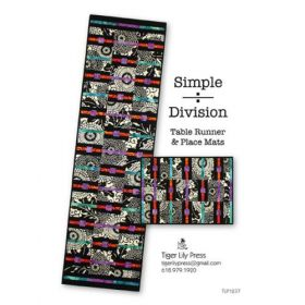 Simple Division Table Runner & Place Mats Quilt Pattern