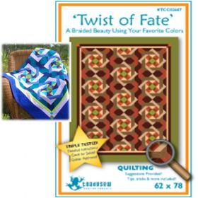 TWIST OF FATE QUILT PATTERN