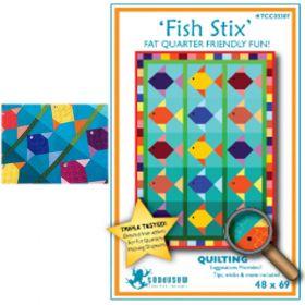 FISH STIX QUILT PATTERN*