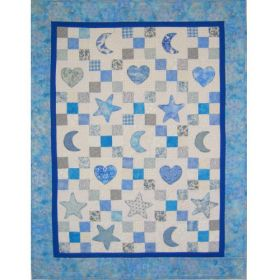 APPLIQUED BABY QUILT PATTERN