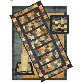 Charming Duo Runner and Mat Pattern