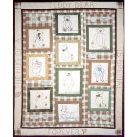 VINTAGE BEARS QUILT PATTERN
