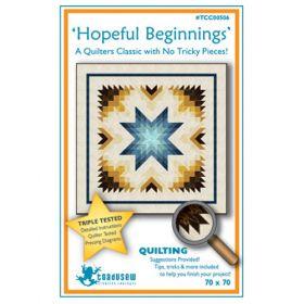 Hopeful Beginnings-Standard Quilt Pattern