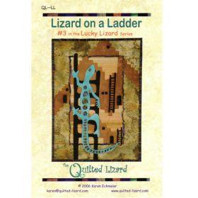 LUCKY LIZARD - #3 LIZARD ON A LADDER QUILT PATTERN