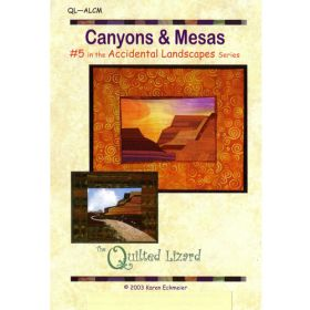 Accidental Landscapes - Canyons & Mesas Quilt Pattern