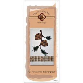 Pinecones & Evergreen Patternlet