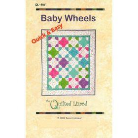 BABY WHEELS QUILT PATTERN