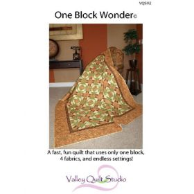 One Block Wonder Quilt Pattern