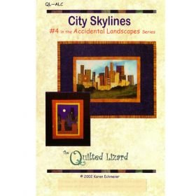Accidental Landscapes - City Skylines Quilt Pattern