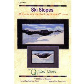 Accidental Landscapes - Ski Slopes Quilt Pattern