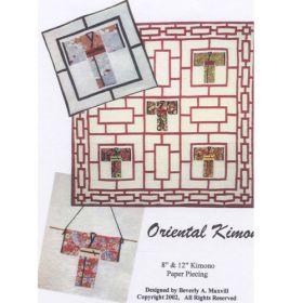 ORIENTAL KIMONOS QUILT PATTERN*