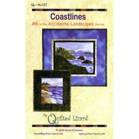 Accidental Landscapes - Coastlines Quilt Pattern