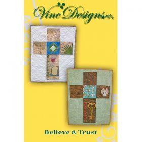 Believe & Trust Wall Hanging/Banner Pattern