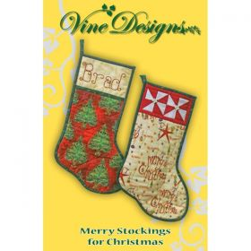 Merry Stockings for Christmas Pattern