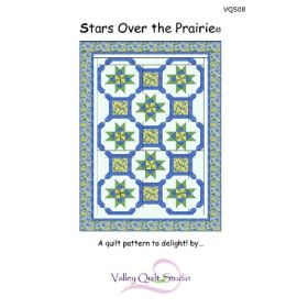 Stars Over The Prairie Quilt Pattern