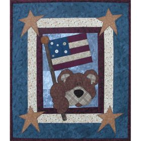 PATRIOTIC BEAR PATTERN*