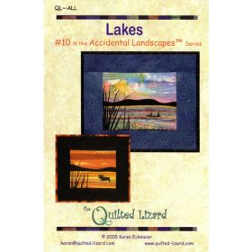 Accidental  Landscapes - Lakes Quilt Pattern