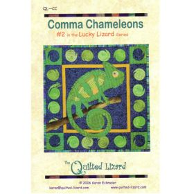 LUCKY LIZARD - #2 COMMA CHAMELEONS QUILT PATTERN