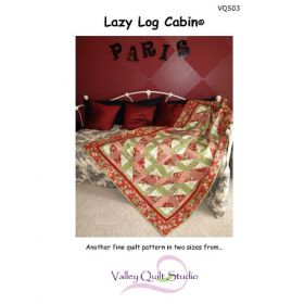 Lazy Log Cabin Quilt Pattern