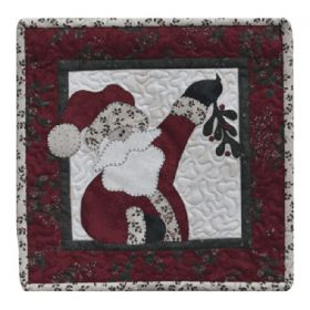 Little Quilts 2 - Ho, Ho , The Mistletoe Quilt Pattern