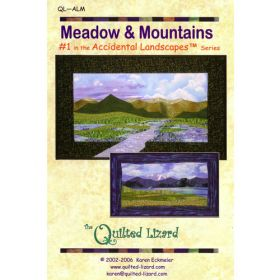 Accidental Landscapes - Meadow & Mountains Quilt Pattern