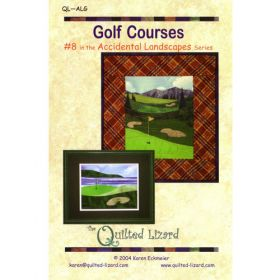 Accidental Landscapes - Golf Courses Quilt Pattern