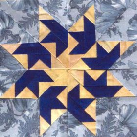 FLYING SWALLOWS QUILT PATTERN