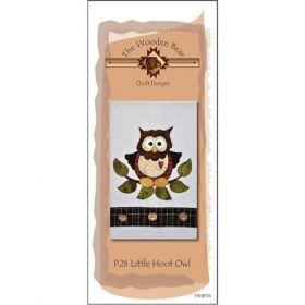 Little Hoot Owl Patternlet