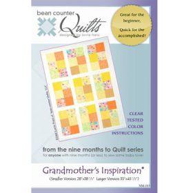 GRANDMOTHER'S INSPIRATION QUILT PATTERN