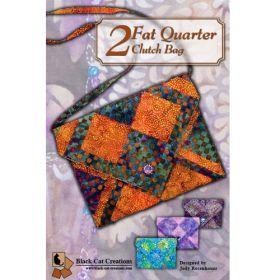 2 FAT QUARTER CLUTCH BAG
