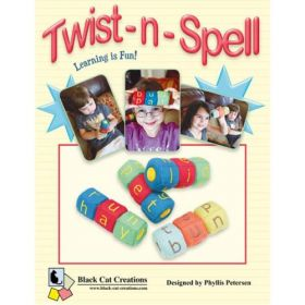 Twist-n-Spell 2 Block Set Pattern