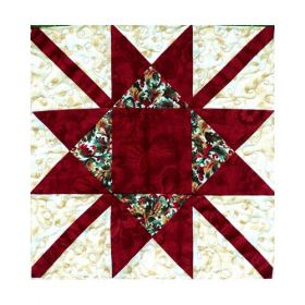 A CHRISTMAS TO REMEMBER-SNOWFLAKE BLOCK