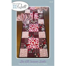 The All Season Table Runner & Placemats Quilt Pattern