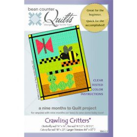 CRAWLING CRITTERS QUILT PATTERN