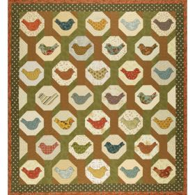 BIRDS IN TREES QUILT PATTERN*
