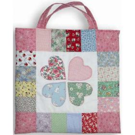 HEARTS IN BLOOM TOTE