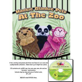 HANKIE BLANKIE PETS - AT THE ZOO - CD